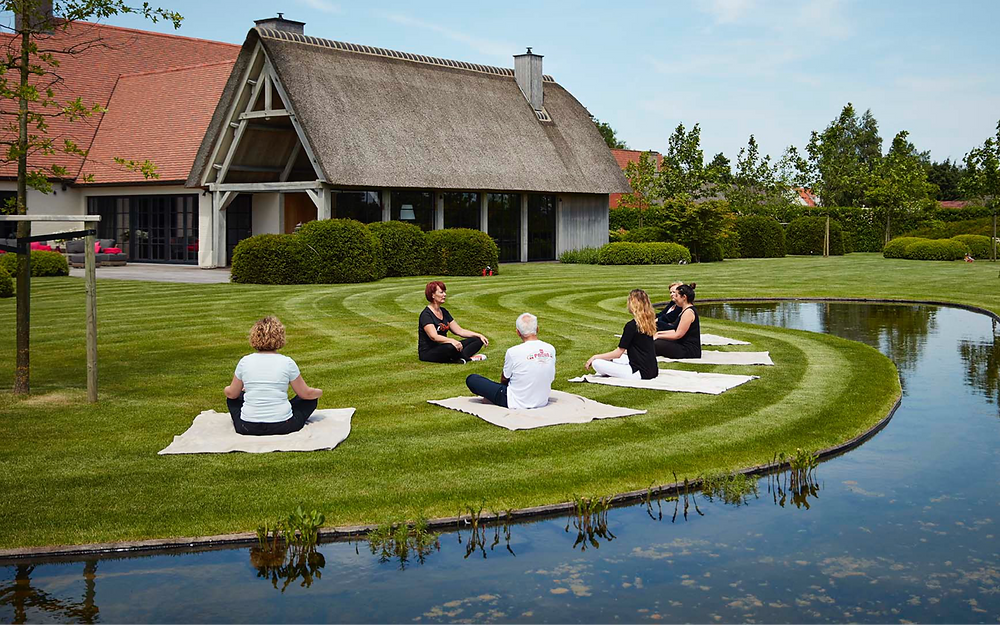 Groepswerk 2Refresh meditatie tuin evenement