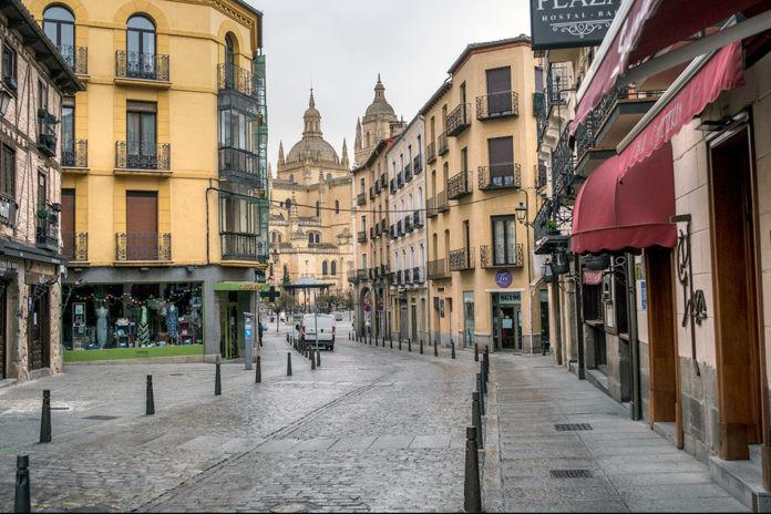 Calle Cronista Lecea.