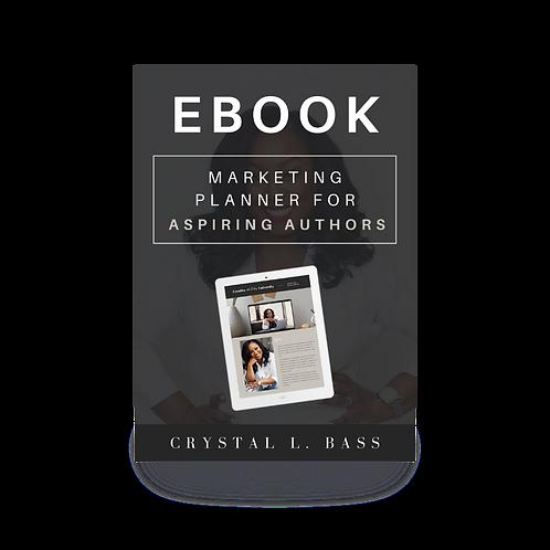 eBook Marketing Planner For Aspiring Authors