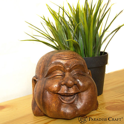 HAPPY BUDDHA HEAD