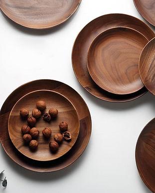Dia-15cm-20cm-Wood-Dish-Plates-Premium-B