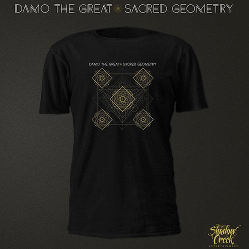 Damo the Great - Sacred Geometry Tee
