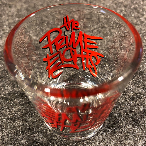 The Prime Eights Shot Glass
