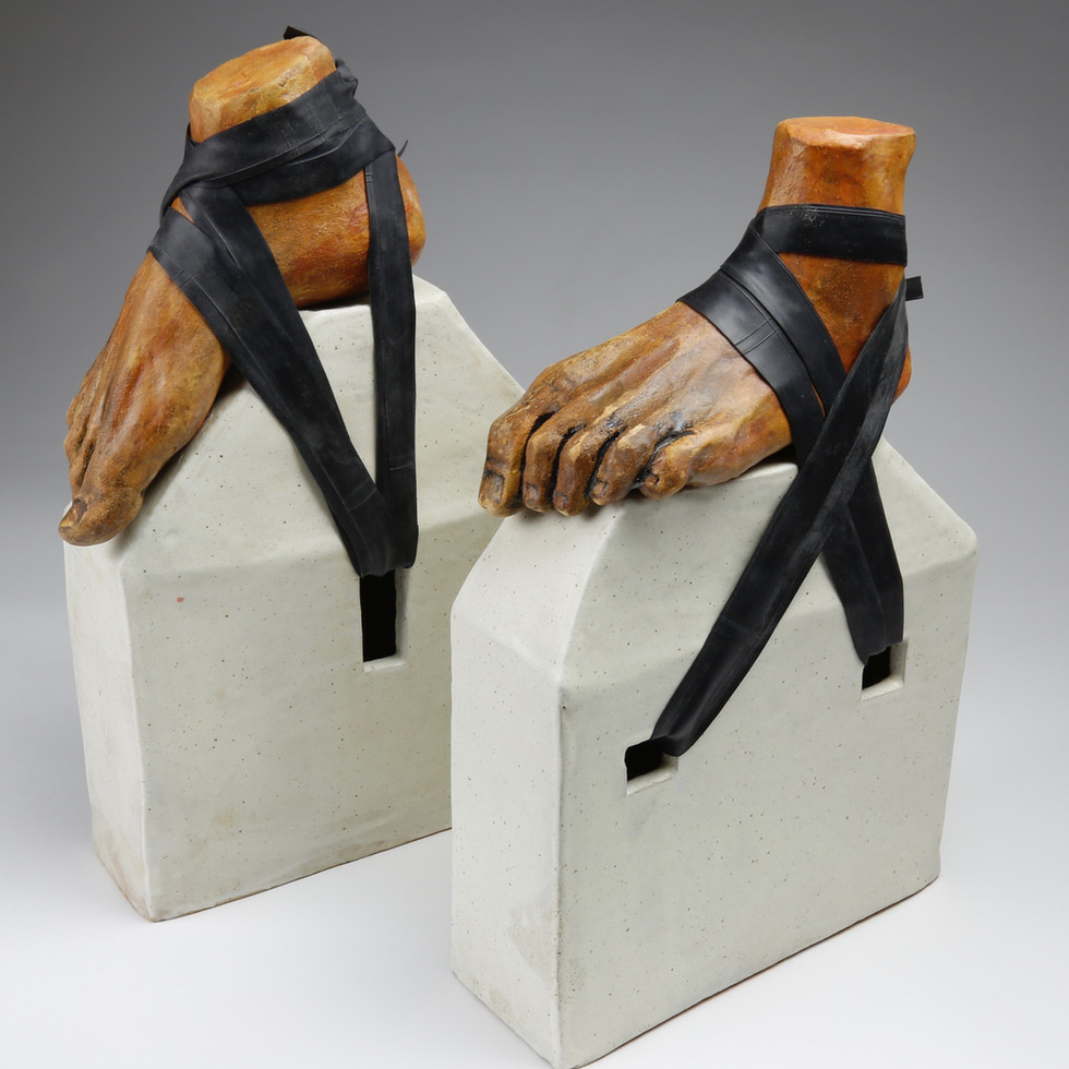 Moller Somsen, Elevated Strappy Sandals