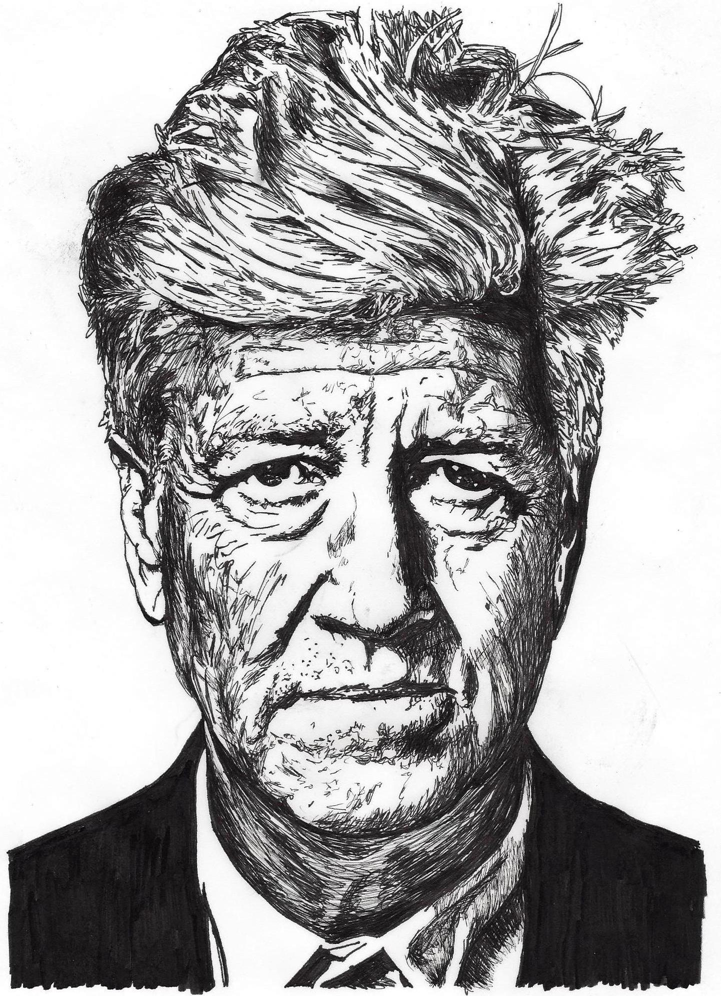 David Lynch by Stevi Draws