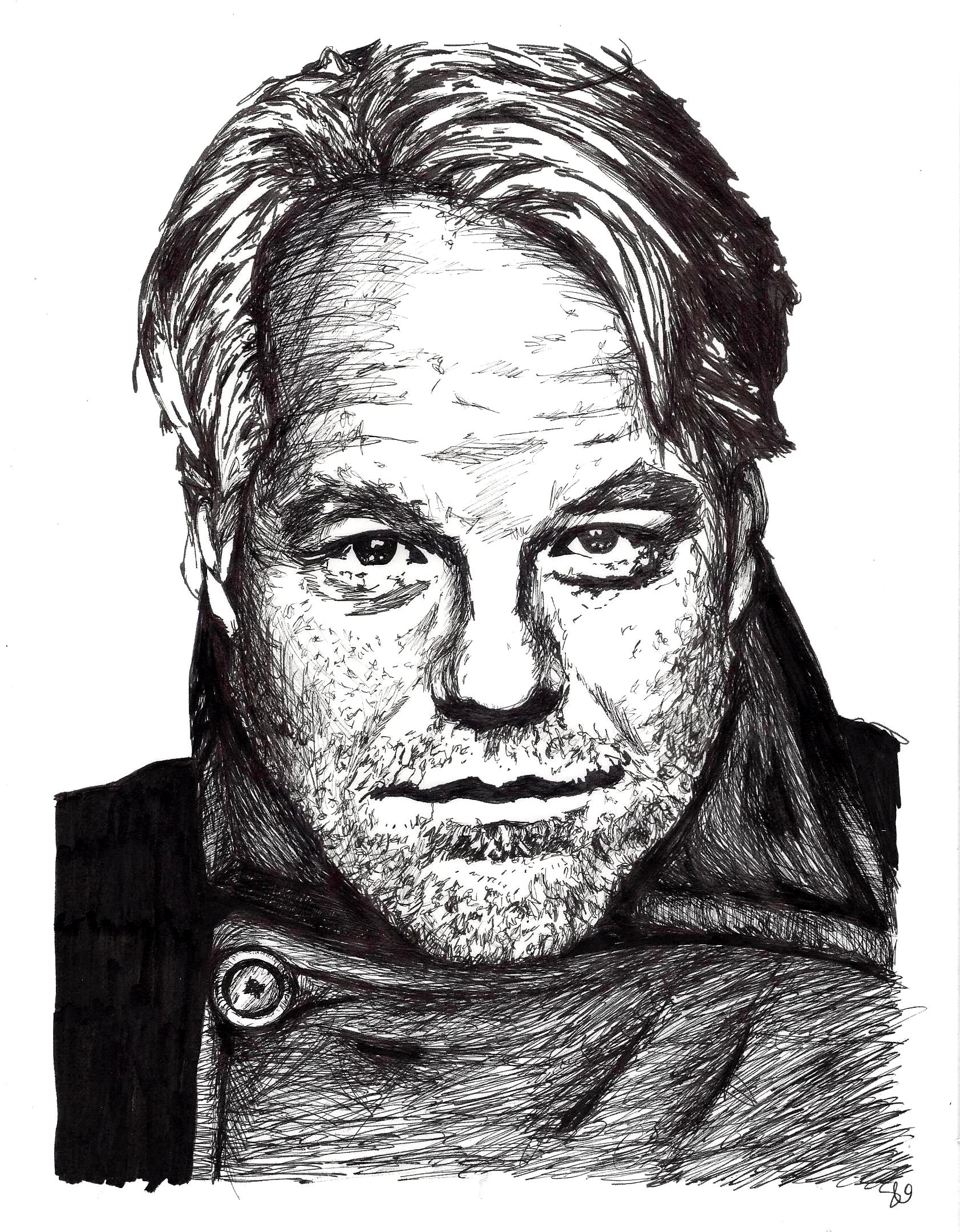 Philip Seymour Hoffman by Stevi Draw