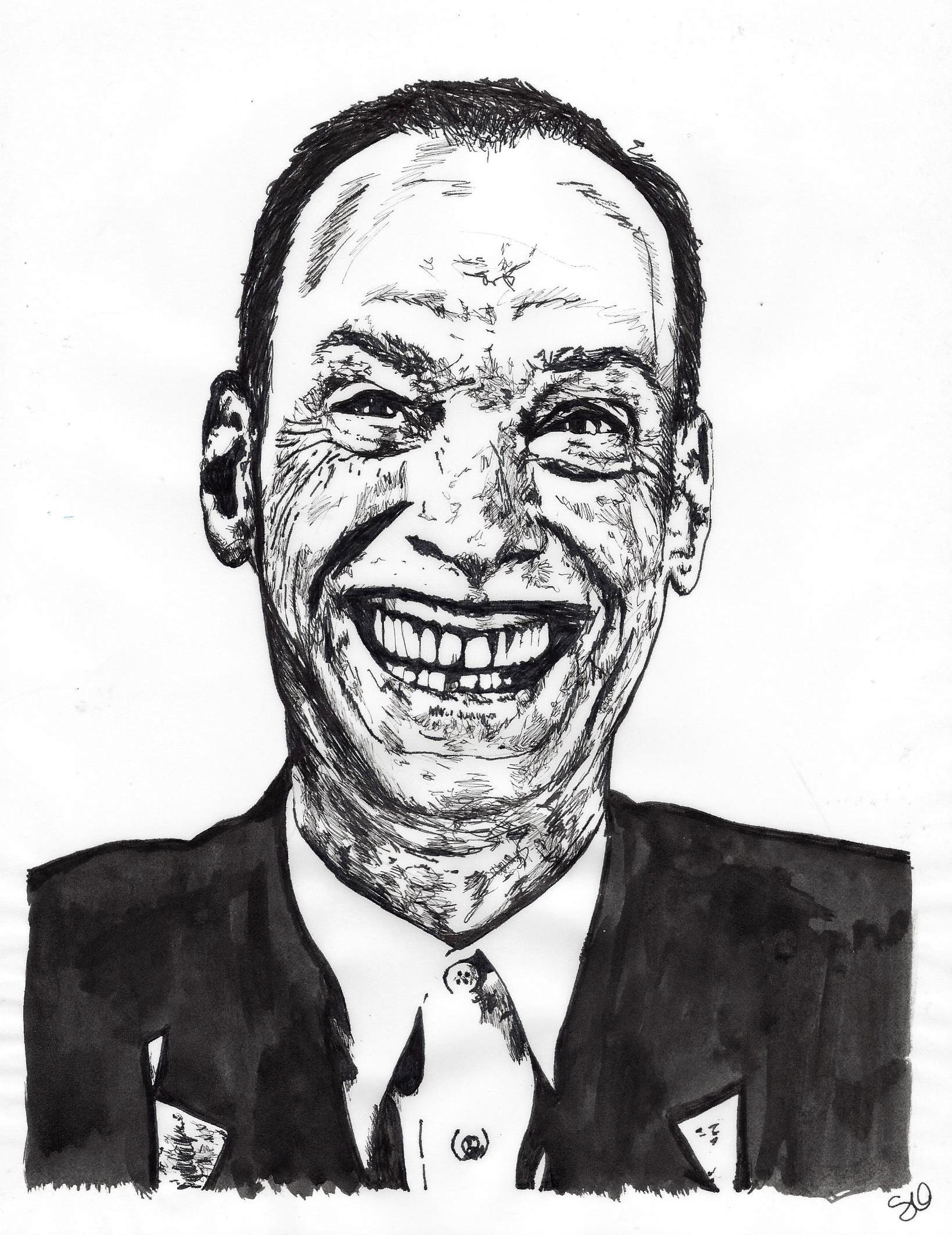 John Waters by Stevi Draws