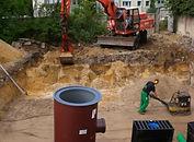 ESO-BAU GmbH & Co. KG Abwasser Errichtung von Bodenplatten