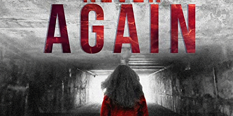 Never Again: Live Read & Giveaway
