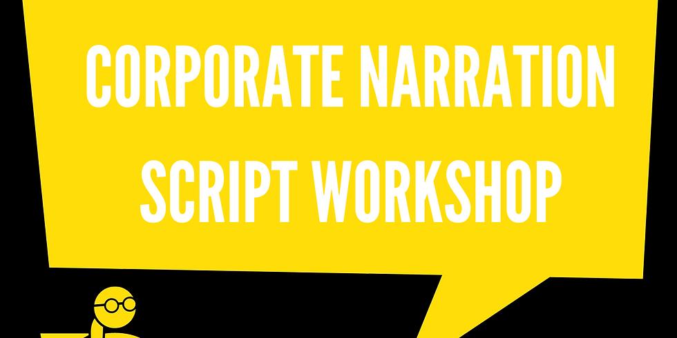 Group Class: Corporate Narration Script Workshop