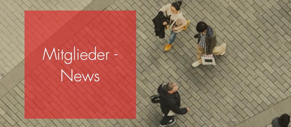 Neuer Mitglieder-Newsbereich