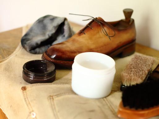 革靴メンテナンス