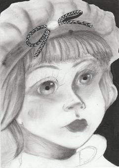 4 drawings 1 subject: 2