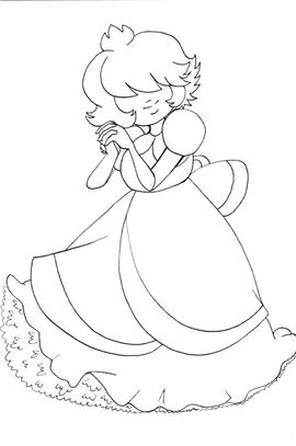 Padparacha doodle.