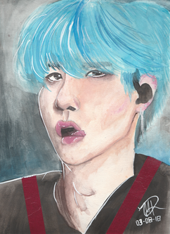 Watercolor Yoongi
