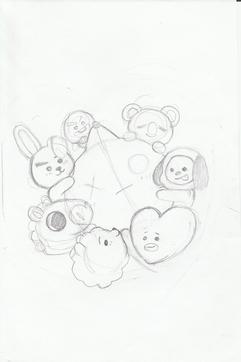 Shirt Concept sketch