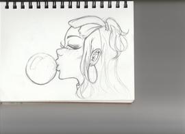 Merch concept sketch