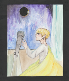 Serendipity: First time watercoloring