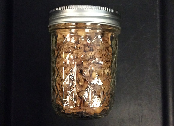 Granola with mixed nuts