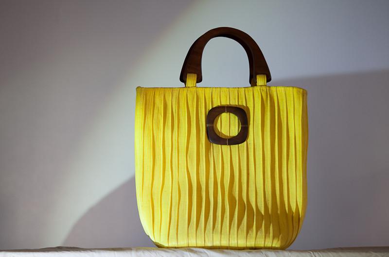 Abaca Raya in Mustard Yellow