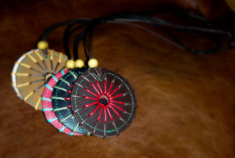 Leather Medallions