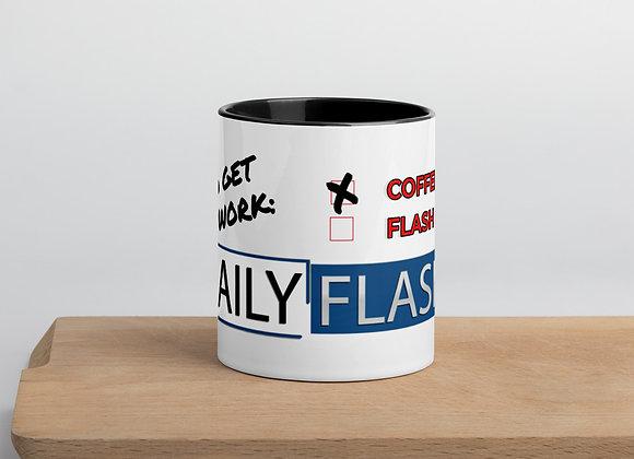 The Flash Me Work Motivator Mug Duo Color Mug
