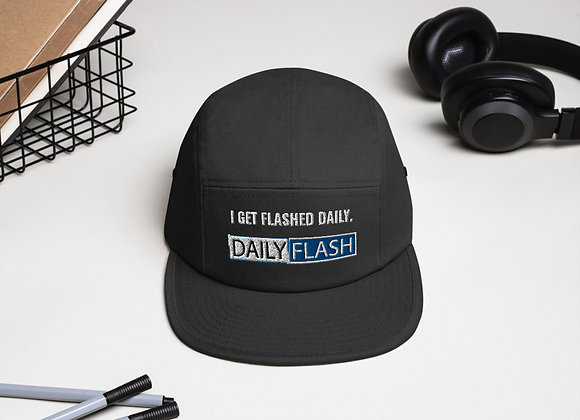 The Get Flashed Five Panel Cap
