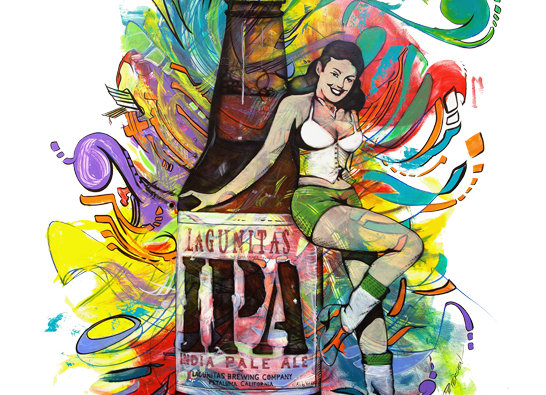 Lagunitas x Ryan Petersen Art Collaboration Limited Edition Release