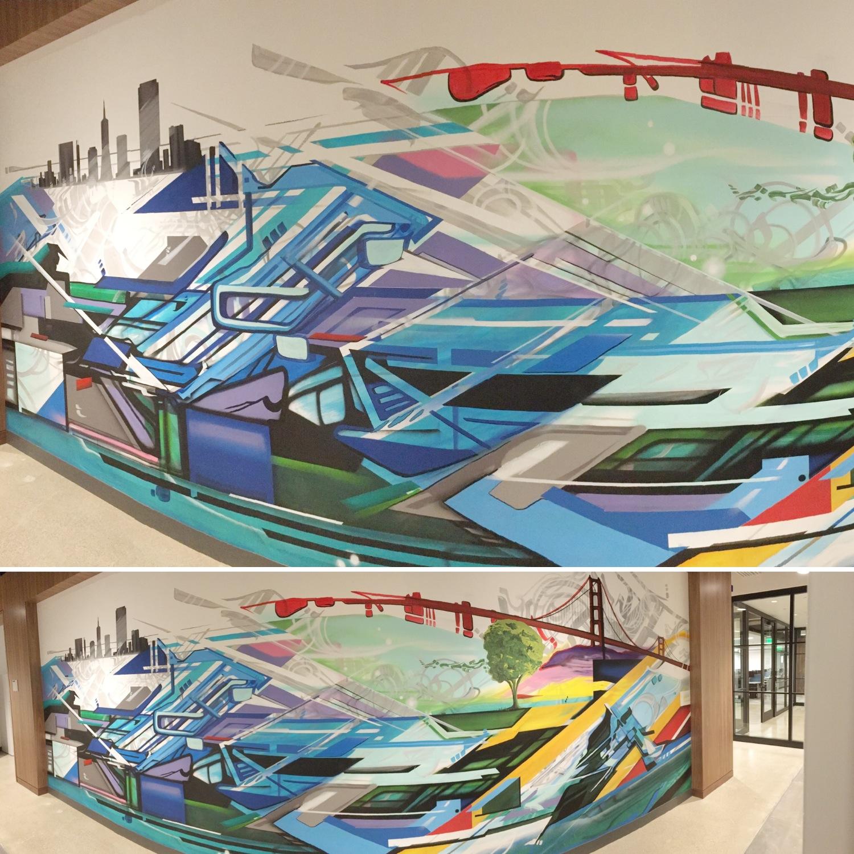 AIG Mural