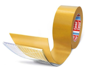 Tesa 66022 Reinforced Scrim Tape - 19mm x 100m