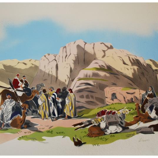 Tomb of Arab, Summit of mount Hor