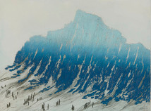Yannick Ballif 1927- 2009 France    Etching  1989 6/70 55 x 70 cm
