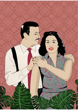 Anwar Wagdi & Leila Mourad