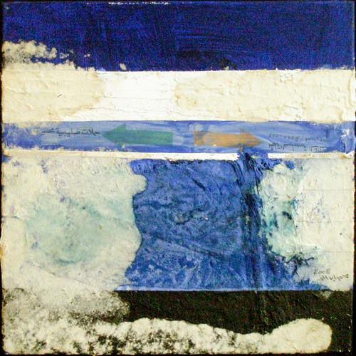 Mohamed Abouelnaga 1960 Egypt Handmade Paper  2008        55 x 55 cm