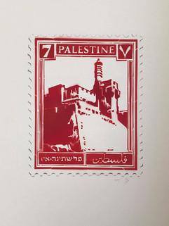 Palestine stamp