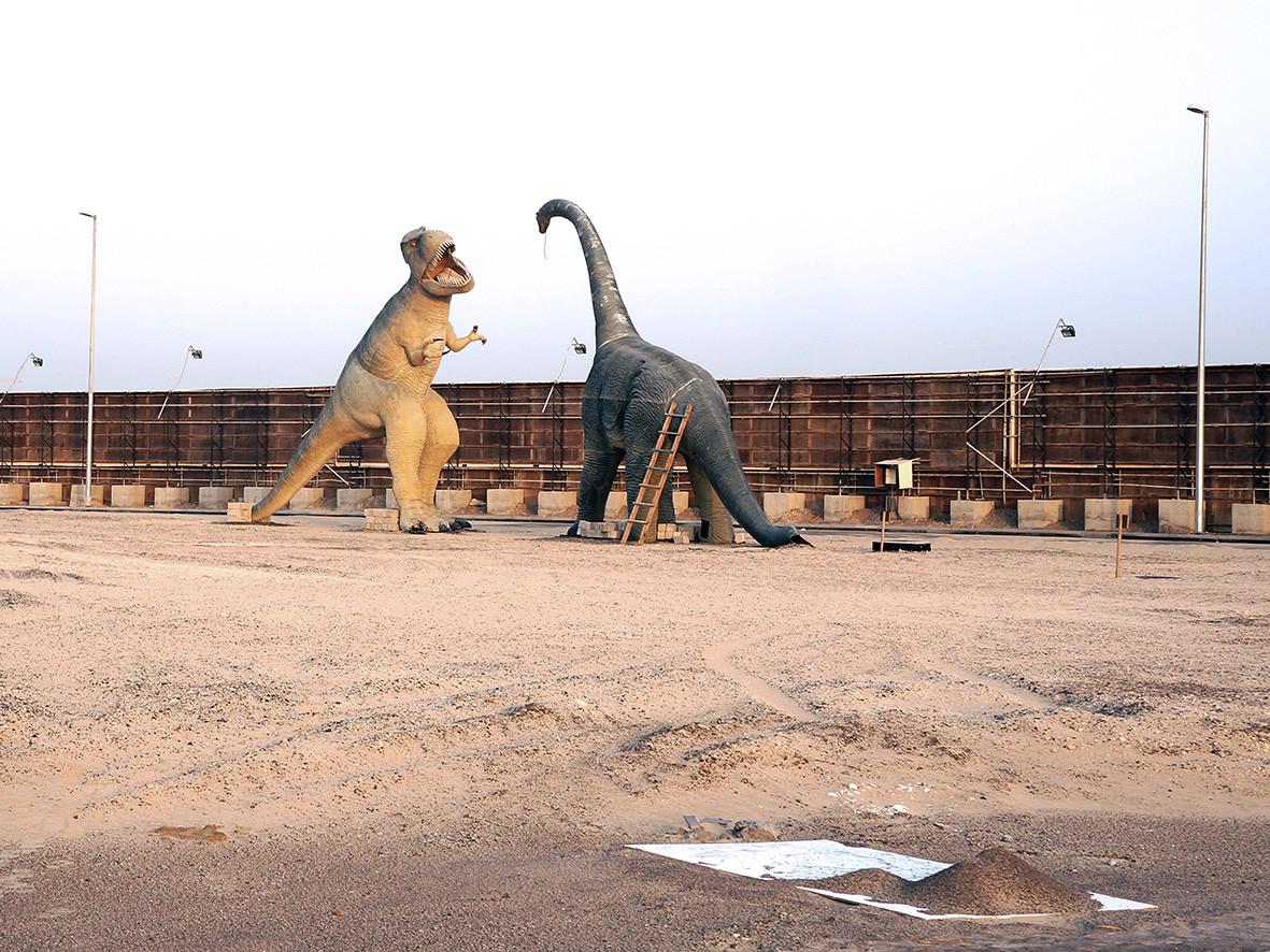 Trojan Dinosaurs, Dubai  2012 52x70 cm