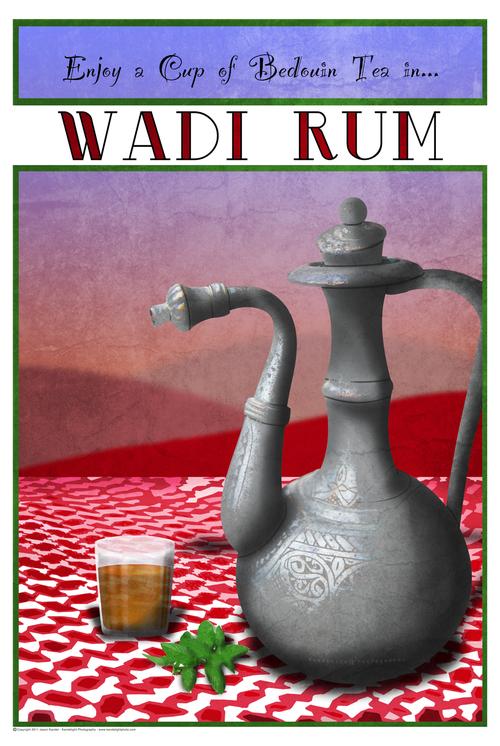 Tea at Wadi Rum
