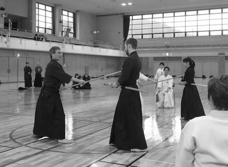 第4回神奈川県剣道連盟杖道部会 紅白杖道大会