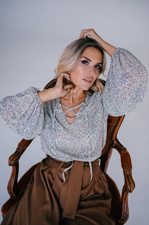 Блузка из итальянского шифона