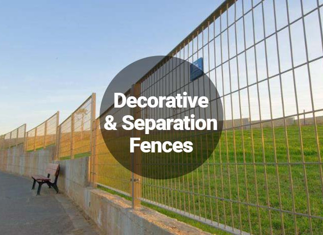 Decorative and Separation Fences