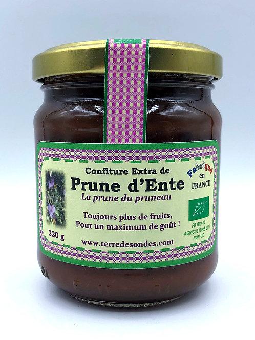 Confiture de Prunes d'Ente (allégée en sucre)