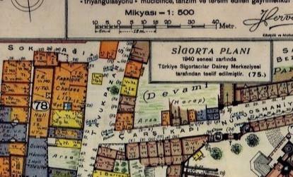Burada eski İstanbul var: İstanbul'un tarihi haritaları...