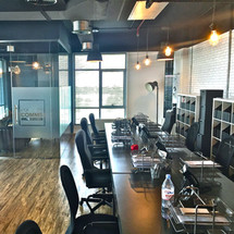 Open Working office areain House of Comms, Dubai