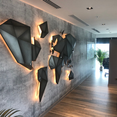 Trend Micro Executive Office in Swiss Tower, JLT, Dubai