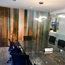 Grayling Dubai Boadroom Feature Wall