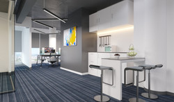 3D Rendering off office pantry area