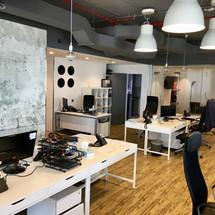 Finsbury Dubai Open Working Office Area