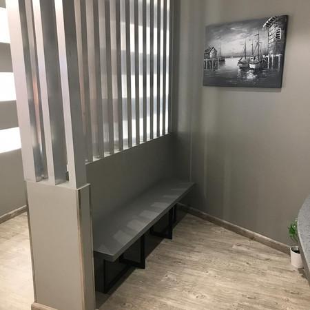Bespoke Reception waiting area