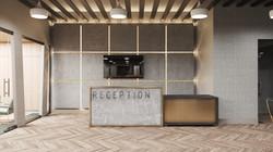 3d rendering of Reception