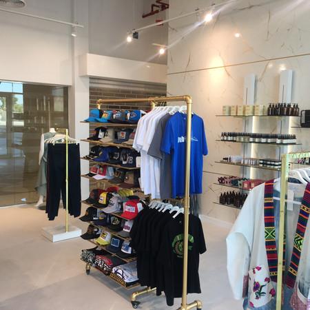 Rail System for fashion store Dubai